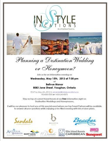 Planning a Destination Wedding or Honeymoon?