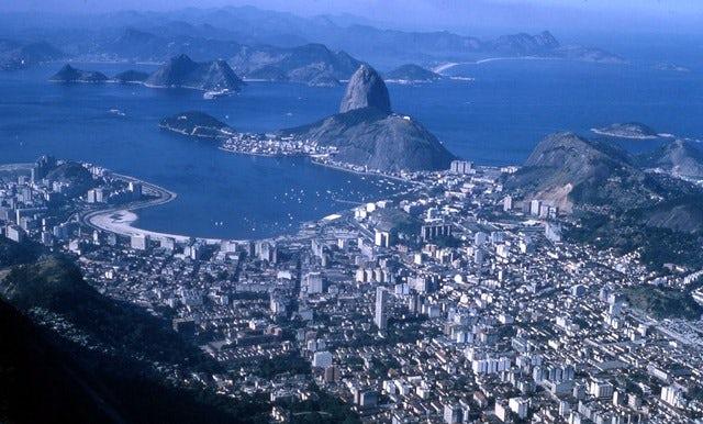 Get a Birds' Eye view of Rio de Janeiro at Sugar Loaf Mountain