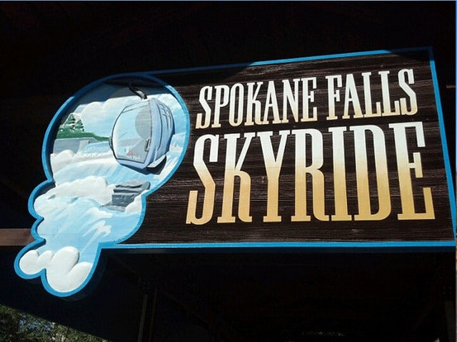 Ride the Spokane Falls SkyRide at River Front Park