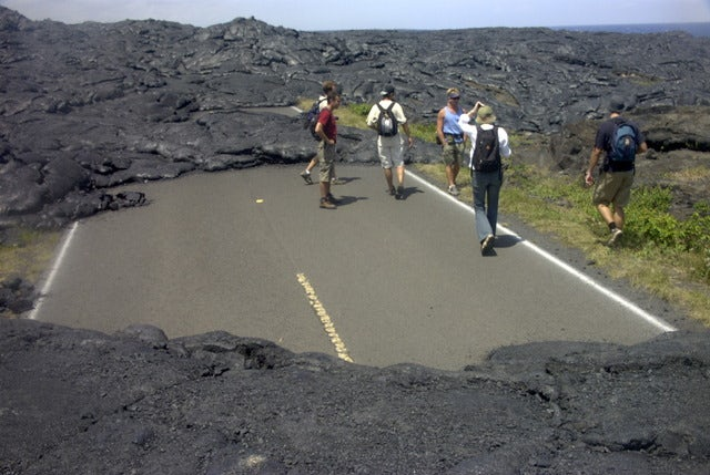 Get close to an active volcano at Hawaii Volcanoes National Park