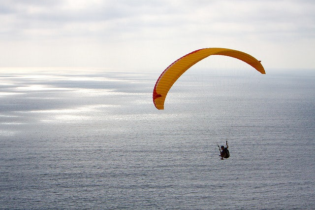 Experience flying: Go hang gliding at Torrey Pines Gliderport