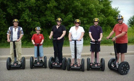 Travel in style on a Segway: take a scenic tour by All American Segway