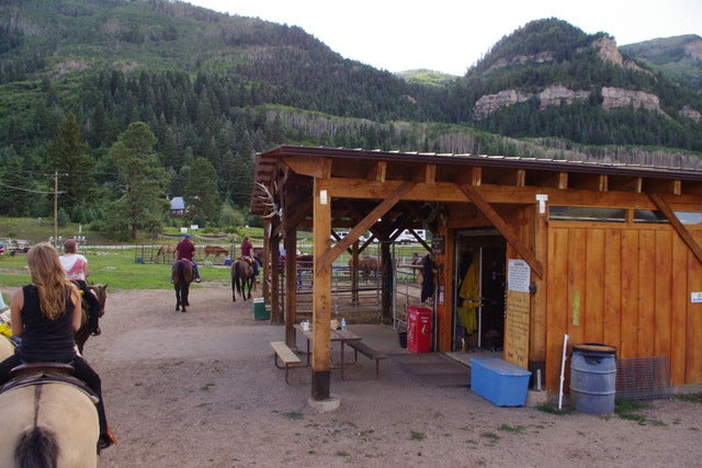 Enjoy some Horseback Riding and Cave Exploration at Rapp Corral