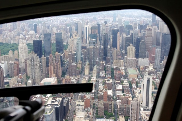 Experience the Manhattan skyline on a Big Apple Helicopter Tour