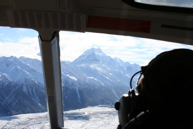 Enjoy a Picnic with Amazing views on Picnic on a Peak Helicopter Tour