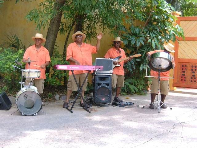 Enjoy Steel Band Music at Sunset at the Shirley Heights Sunset Party