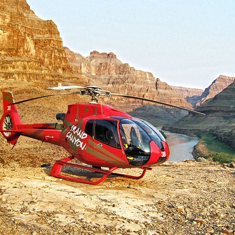 See the Grand Canyon on a Sunset Grand Celebration with Vegas Strip Tour