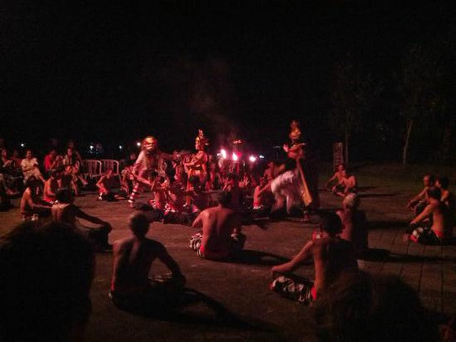 Discover Island Dances at an Evening Fire, Trance and Monkey Dance