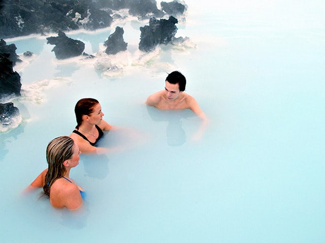 Enjoy a Relaxing, Warm Geothermal Soak at the Blue Lagoon