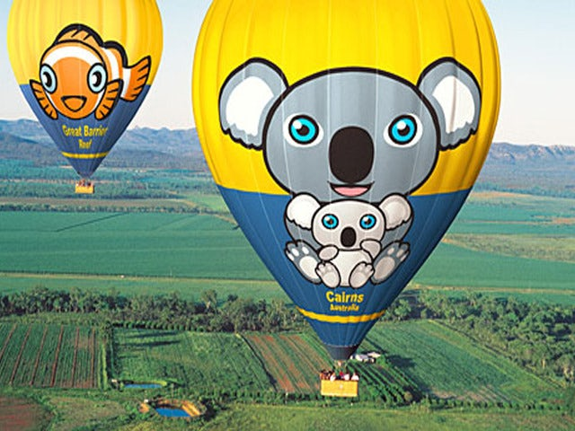 Float Along and Enjoy the Sunrise on a Cairns Sunrise Balloon Adventure