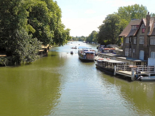 Eat Lunch on the River Thames on an Oxford Picnic River Boat Cruise