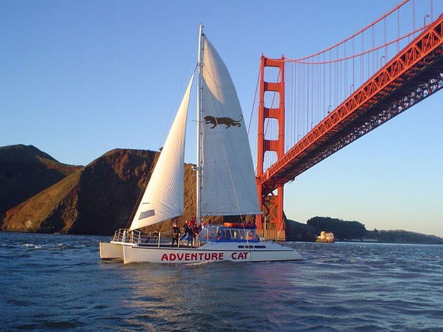 Fly over the Golden Gate Bridge on a Land, Sea, Air Prison Adventure