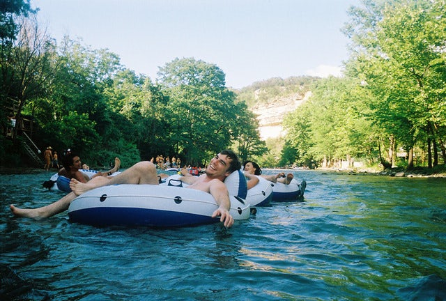 Let the River's Current Take You on a River Tubing Safari