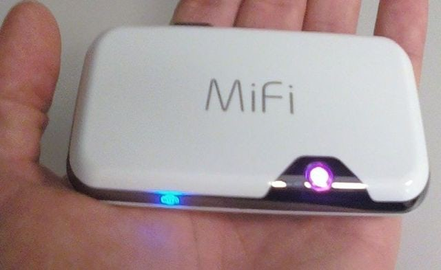 MiFi for the Traveller Always on the Go!