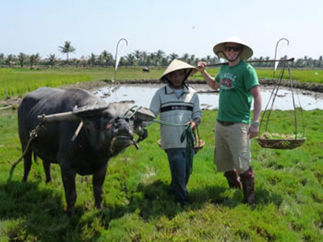 Join a Captain Aboard an Eco-Tour Boat on a Hoi An Fishing Experience