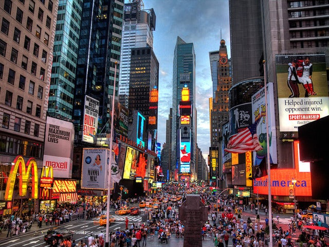 Experience Times Square on a New York Urban Safari