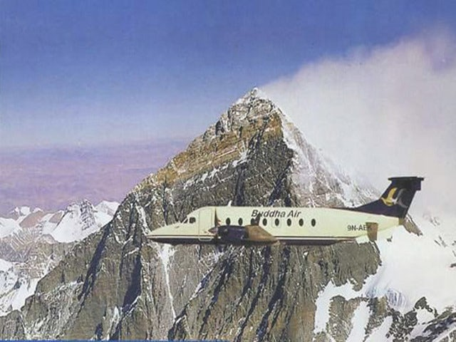 See Mount Everest from the Air on a Mount Everest Flight Tour