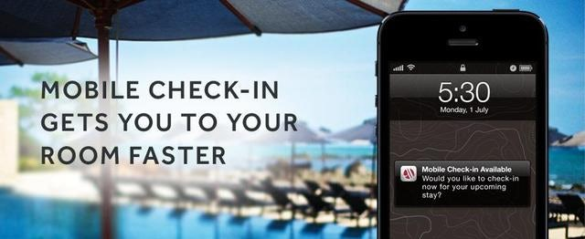 Check-In to Marriott Via Your Mobile Device