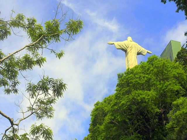 See Views of Guanabara Bay on a Corcovado, Christ Statue & Favela Tour