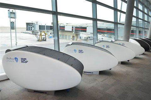 Abu Dhabi Looking to Overhaul Jetlag With Sleep Pods