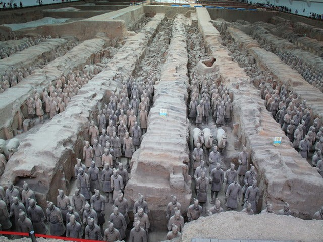 See Life-Sized Warriors on a Terracotta Warriors & Xi'an Markets Tour