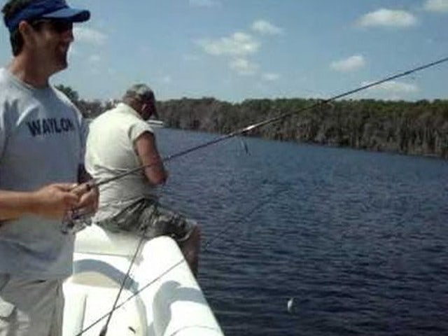 Catch a Large Mouth Bass on an Orlando Trophy Bass Fishing Trip