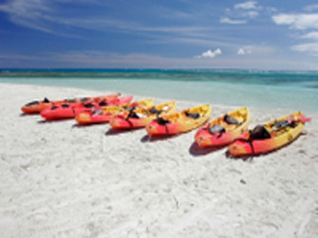 Discover the Bermuda's Rocky Coastline on a Bermuda Kayak Eco-Tour