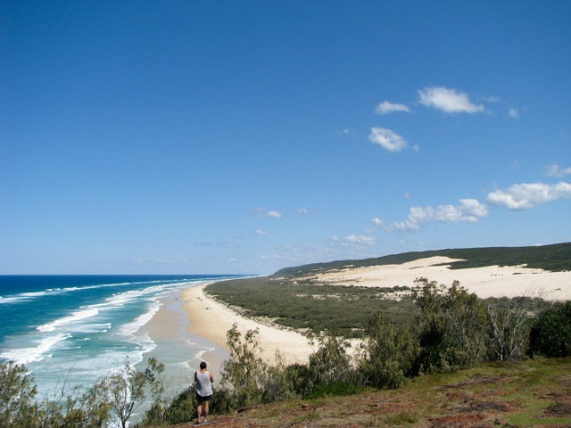 Soak up the Sun at Fraser Island's 75-Mile Beach