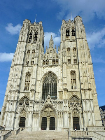 Visit the Cathedral of Saints Michael and Gudula in Brussels