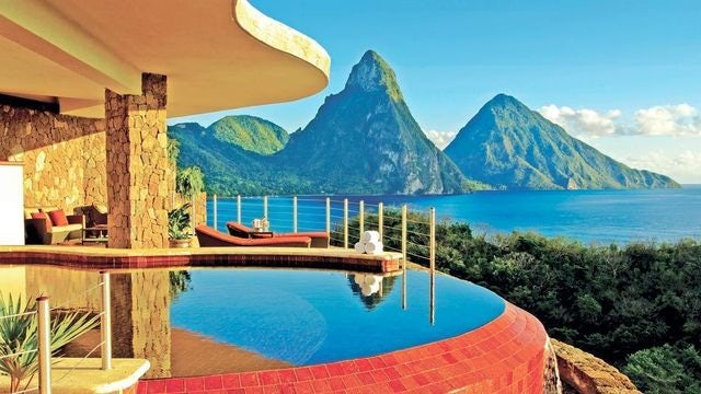 Relax in the Stunning Panoramic of Jade Mountain