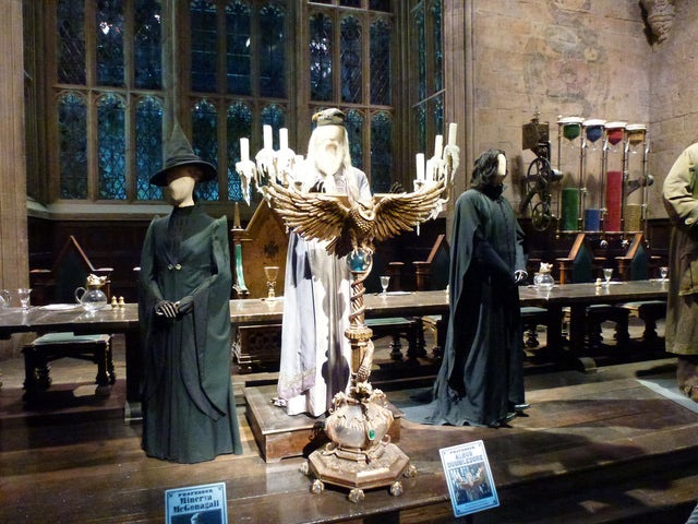 Enter the World of Magic at a Harry Potter Studio Tour