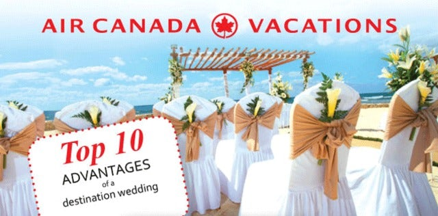 Top 10 Advantages of a Destination Wedding
