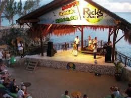 Sunset at Rick's in Jamaica