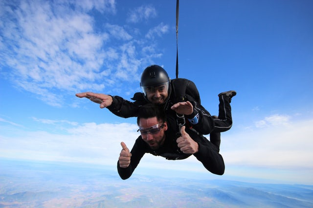 Le Brisbane Tandem Sky Dive: Plaisir, frissons et l'excitation...