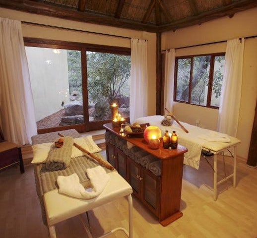Unwind with a Massage in the African Bush