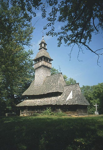 Visiting the Wooden Churches in Ukraine