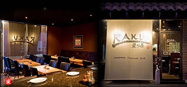 Satiate Your Hunger for Japanese Food at Raku Grill