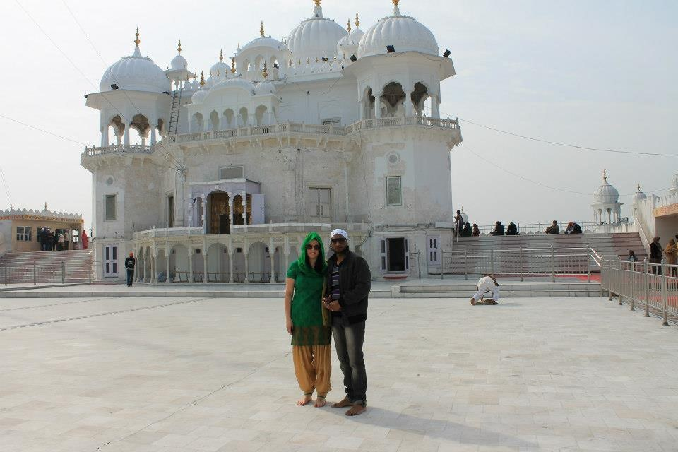 The most pristine temple : Anandpur Sahib