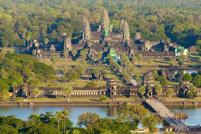 See Cambodia's Monuments at Angkor Archeological Park