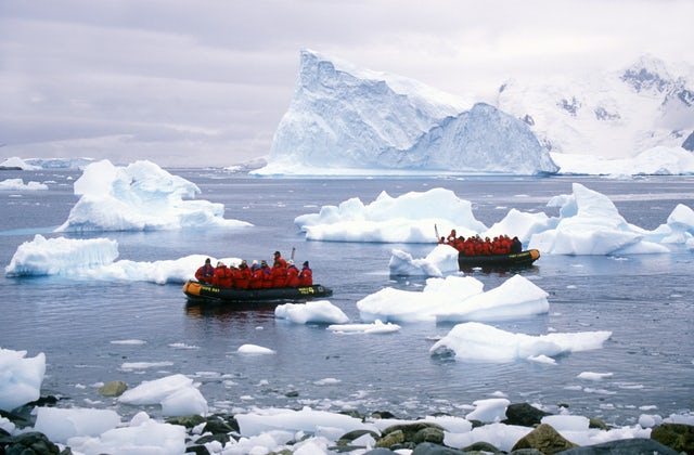 Antarctica summer months, the best time to explore.