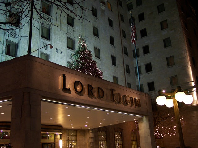 Relax at Lord Elgin Hotel in Downtown Ottawa