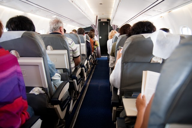 How to pick up a conversation on a long flight