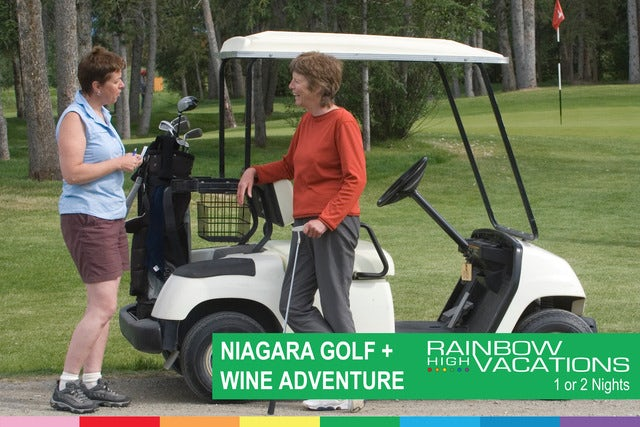 Who's up for a little golf vacation after WorldPride?