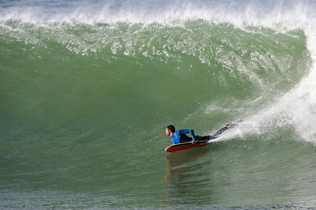 The Perfect wave on a body board adventure on the Island of Costa Rica