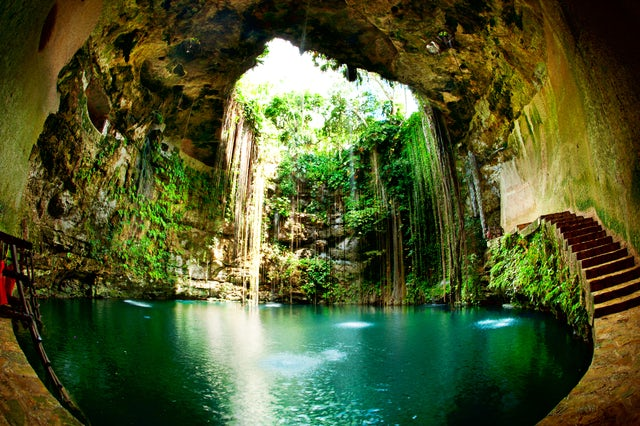 Dicover Mexico's best kept secrets exploring underwater caves
