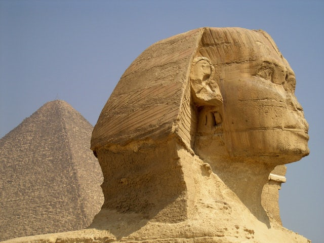 Visit the historical Pyramids of Giza