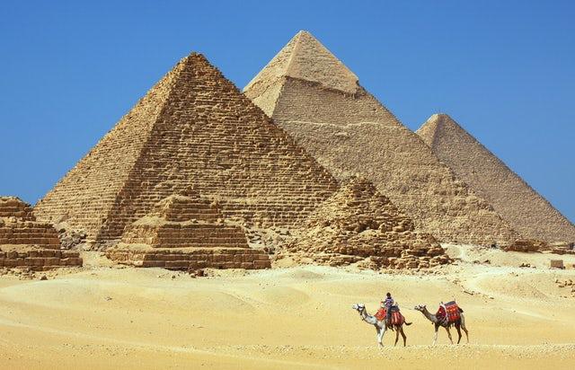 A Visit to the historical Giza Necropolis
