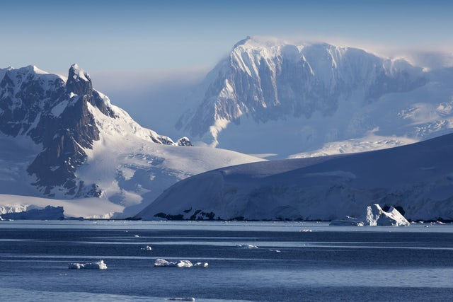 Take in the breath-taking views on an Antarctic peninsula cruise