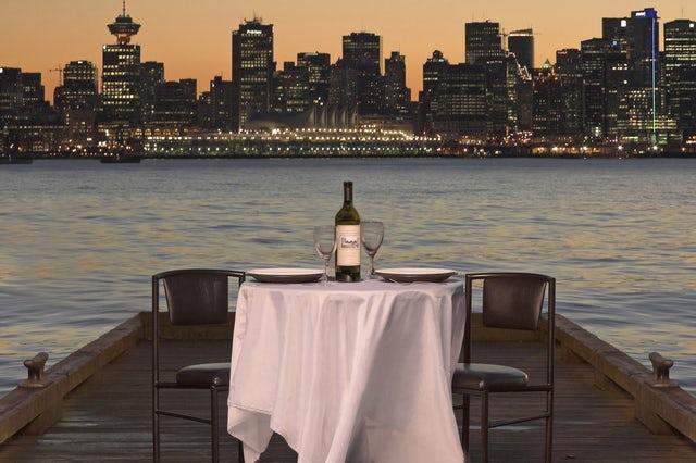 Best beach front restaurants in Vancouver