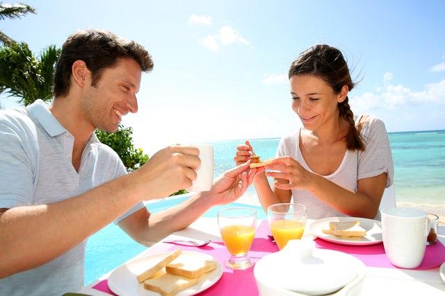Best beach front restaurants Santorini